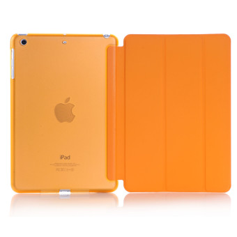Harga Welink Ultra Slim Smart Cover PU Leather Case for Apple iPad Mini 4 (Orange)