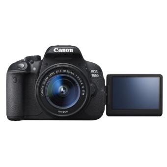 Canon Kamera EOS 700D Kit 18-55mm STM - 18MP - Hitam
