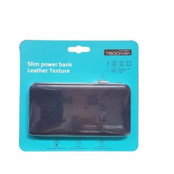 Harga Bcare Power Bank Slim Leather 7800 Mah Original -Hitam