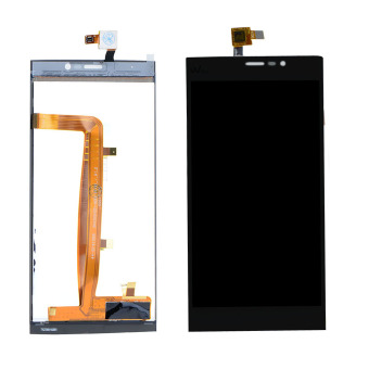 Harga Full LCD Display Touch Screen Digitizer For Wiko Ridge Fab 4G M536(Black)- - intl