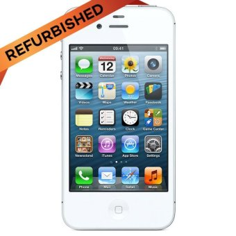 Harga Apple Certified Refurbished iPhone 4G - 16 GB - Putih - Grade A