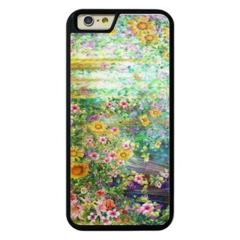 Harga Phone case for iPhone 6Plus/6sPlus Abstract flowers watercolor painting. Spring multi cover for Apple iPhone 6 Plus / 6s Plus - intl