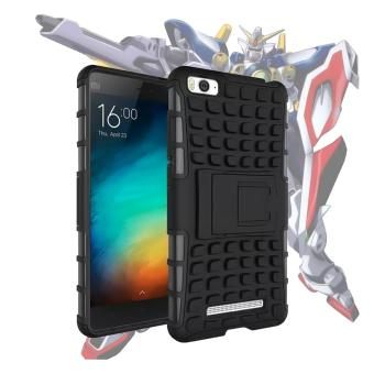 Harga Case for Xiaomi Mi 4i / Mi 4c Robotic Rugged Armor With Kickstand - Black