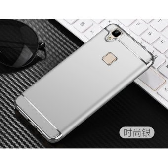 Harga 3 in 1 Protective Back Cover Case For VIVO V3 Max(Silver) - intl