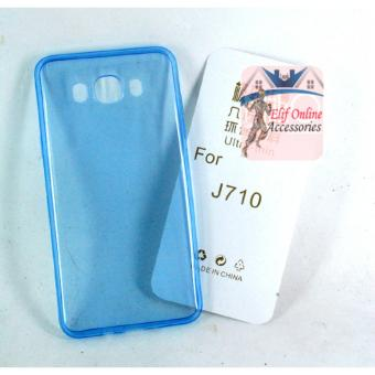 Harga Ultrathin Softcase samsung galaxy j710 / j7 2016 Aircase - Biru Clear