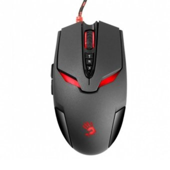 Harga A4Tech Bloody V4MA Metalfeet Ultra Core3 Activated Gaming Mouse - Hitam