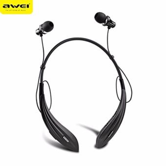 Harga AWEI A810BL In-Ear Stereo Sport Wireless Bluetooth 4.0 Earphone with Mic