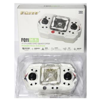 Harga FQ777 FQ11 Mini 4 CH 6 Axis Gyro Quadcopter (Gold)