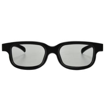 Harga Circular Polarized Passive 3D Glasses for 3D Movie Games - Intl
