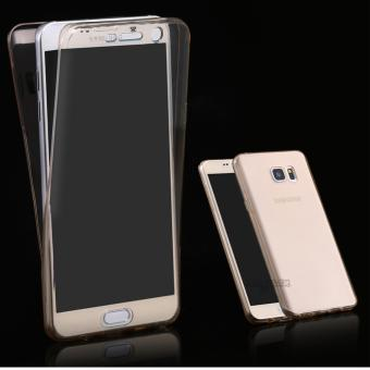 Harga Softcase Silicone 360 Full Body Softshell Depan Belakang Samsung A5 2017 (Clear)