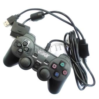 Harga M-Tech Gamepad Single Getar USB / PS2 / PS3