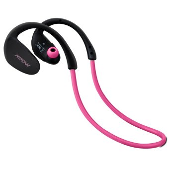 Harga Mpow Cheetah Bluetooth 4.1 Wireless Headphones Stereo Sport Running Gym Exercise Headsets Earphones Hands-free Calling Car Earbuds-pink