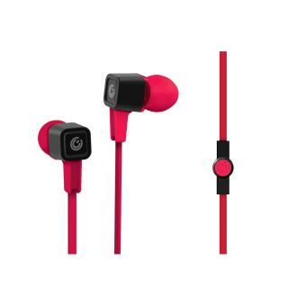 Harga Sonic Gear Airplug 300 Earphone - Festive Red