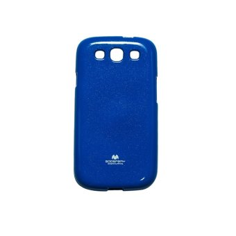 Harga Mercury Goospery Jelly Glittercase for Samsung Galaxy S3 Case - Biru