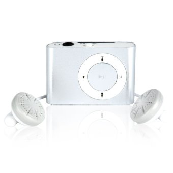 Harga Moreno Pod MP3 Player TF Card with Small Clip - Silver