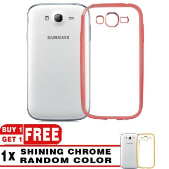 BUY 1 GET 1 | Softcase Silicon Jelly Case List Shining Chrome for Samsung Galaxy Grand