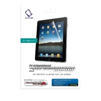Harga Capdase Screen Protector Aris IPad 2 – Clear