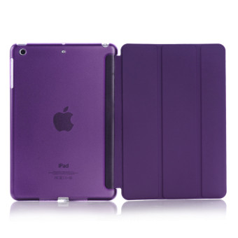 Harga Welink Ultra Slim Smart Cover PU Leather Case for Apple iPad Mini 4 (Purple)