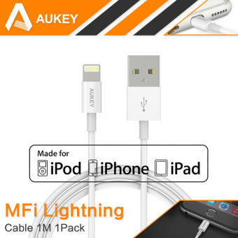 Harga AUKEY, CB-D20 Apple MFI Certified, Apple data cable, 1m.