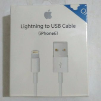 Harga Kabel Data Iphone 5S/5g/6S/6G/7 Original 100%