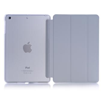 Harga Welink 2 in 1 iPad Air 2 / iPad Pro (9.7) case , Tempered Glass + Ultra Slim Smart Cover PU Leather Case for Apple iPad Air 2 / iPad Pro (9.7) (Grey)