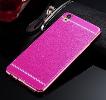 Phone case soft leather mobile phone case litchi grain cortical soft shell for oppo A39 -