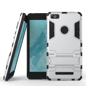 Harga ProCase Shield Armor PC+TPU Back Covers for Xiaomi Mi 4C / Mi 4I - Silver