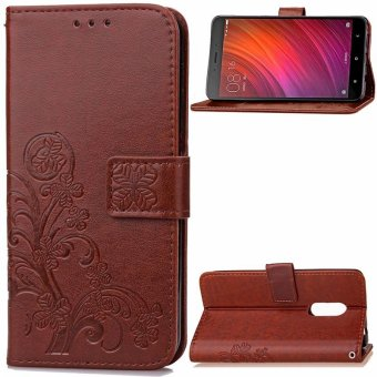 Harga Luxus Riefen Leather Back Cover For Xiaomi Redmi 4x Brown Intl Source · BYT Flower