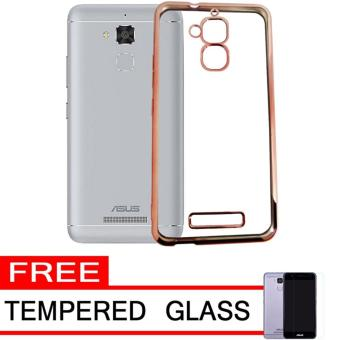 Softcase Silicon Jelly Case List Shining Chrome for Asus Zenfone 3 Max ZC520TL .