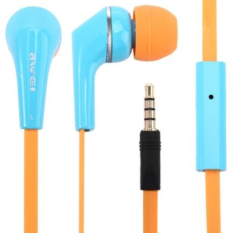 Harga Awei ES Q7i In-ear Earphone Noise Isolation with 1.2m Cable Mic for Smartphone Tablet PC (Blue) - Intl