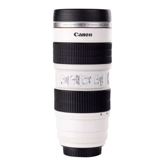 Harga Lens Cup Replica Canon EF 70-200mm / Camera Thermos Mug Lensa Stainless Steel - Jumbo