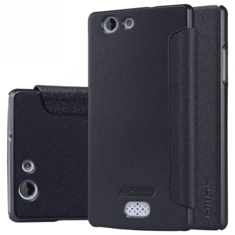Harga Nillkin Sparkle Series New Leather case for Oppo Neo 5 (A31) - Hitam