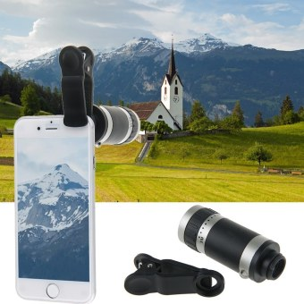 Harga New 8x Zoom Clip Mobile Phone Telescope Phone Camera Telephoto Lens for Samsung Galaxy S6 S5 S4