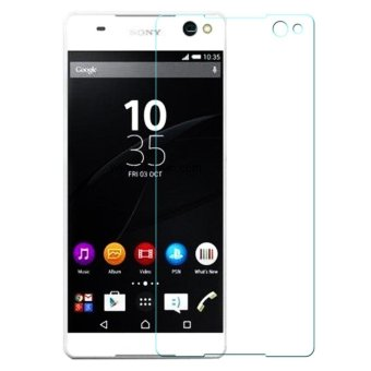 Vn Tempered Glass 9H for Sony Experia Xperia C5 / Docomo / Dual 2D Round Curved