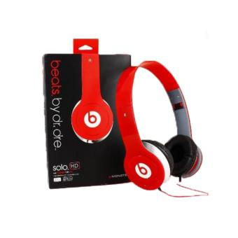 Harga Grade AA DJ Powerful Extra Bass Stereo Headphone Beat Solo OEM