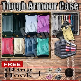 Harga Elegant Case Iron Tough Armour Oppo F1S - Hitam + Gratis Iring + Hook