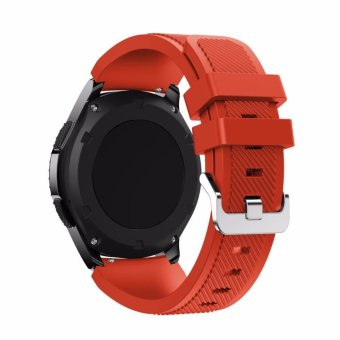 Harga Miimall Soft Silicone Replacement Strap Band belt for Samsung Gear S3 Frontier/S3 Classic Watchband - intl