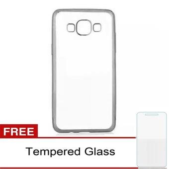 Casing Metal Aluminium Case Samsung Galaxy J2 J200 Black Free Source · Case Ultrathin Shining Chrome