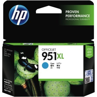 Harga HP 951XL Cyan Officejet Ink Cartridge - Cyan