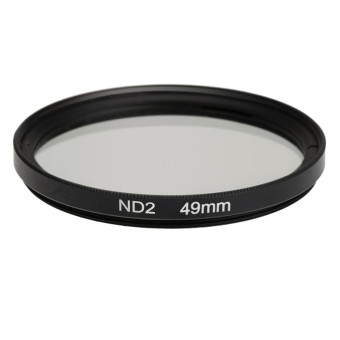 Harga 49mm ND2 Filter Neutral Density Filter Photography Filter for Nikon Canon Sony DSLR Cameras