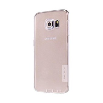 Harga Nillkin Nature TPU Soft Case For Samsung Galaxy S6 Edge Casing Cover - Putih