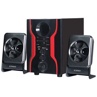 Harga Ichiko Model AS10 Multimedia Bluetooth Speaker - Hitam