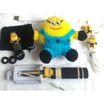 Harga PAKET SPECIAL MINION ^ POWERBANK TONGSIS FISHEYE HEADSET ^