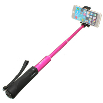 Harga BlitzWolf Handheld Aluminum Extendable Bluetooth Selfie Stick Monopod For Phone - intl