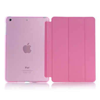 Harga New iPad 2017 iPad 9.7 inch / Ipad Air (ipad 5) case, Welink Ultra Slim Smart Cover PU Leather Case for Ipad Air (ipad 5) / New iPad 2017 iPad 9.7 inch (Pink)