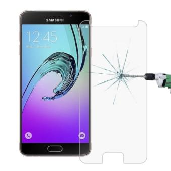 Harga Tempered Glass Samsung A5 2017 Anti Gores Kaca Screen Guard Protector (Clear)