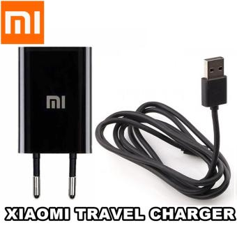 Harga Xiaomi Travel Charger original 5v 1,5 Amp - Hitam