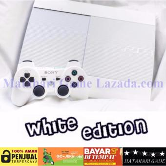 Harga New Limited - Sony Playstation 3 SUPER SLIM 320GB - White Edition