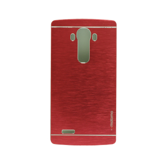 Harga Motomo Metal Case for LG G4 - Merah