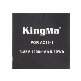 Harga Kingma Baterai/Battery Replacement For Xiaomi Yi 4K Ver.2 Action Camera - Hitam